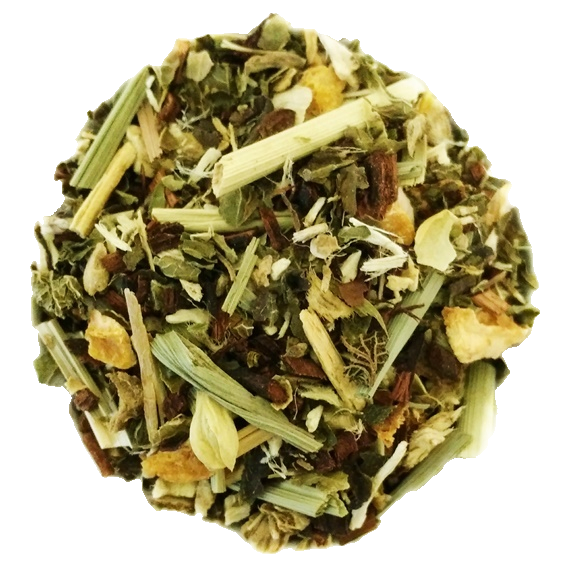 "Lemon Biscottea <span class=""subtitle"">Honeybush & Lemon Mix with Jasmine Flowers</span>"