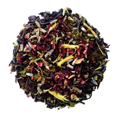 "Love Oolong Time <span class=""subtitle"">Sweet, Lavender Oolong with Mint & Hibiscus</span>"
