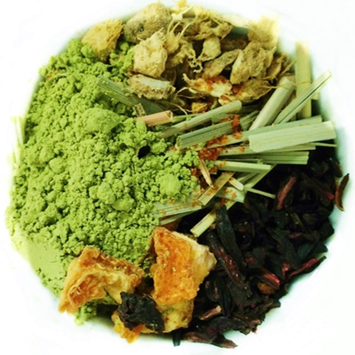 "Matcha: Endurance <span class=""subtitle"">Orange infused Matcha Green Tea with Hibiscus & Cayenne</span>"