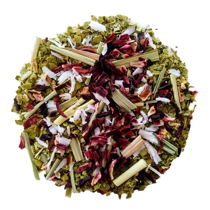 "Maté Shortcake <span class=""subtitle"">Strawberry & Coconut Yerba Maté Blend</span>"