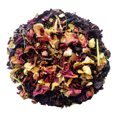 "Oolong Gone <span class=""subtitle"">Orange infused Oolong Mix with Hibiscus & Ginseng</span>"