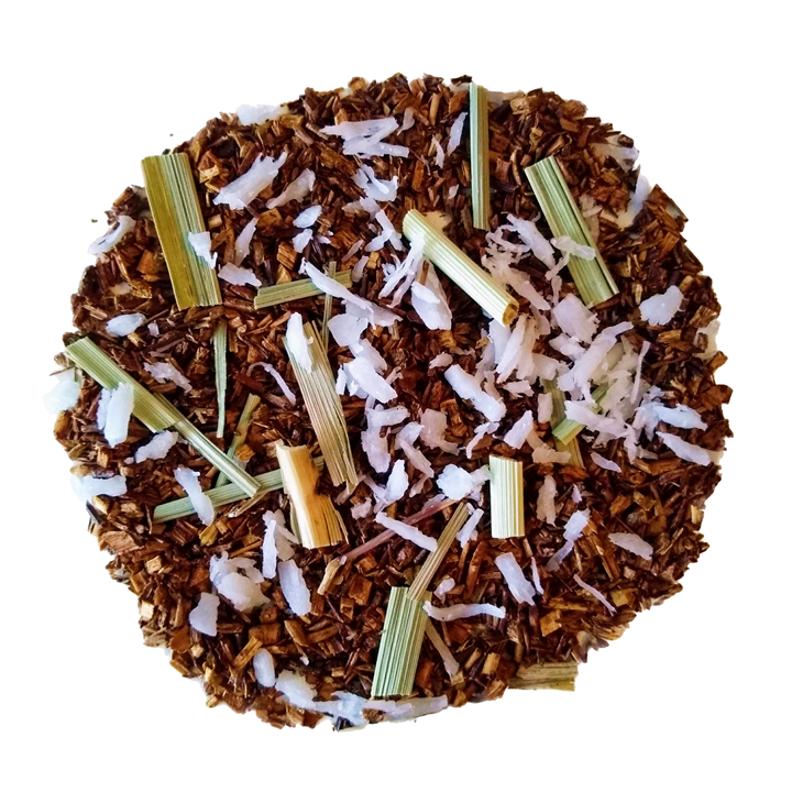 "Red Coconut <span class=""subtitle"">Coconut infused Rooibos, Lemongrass Mix</span>"