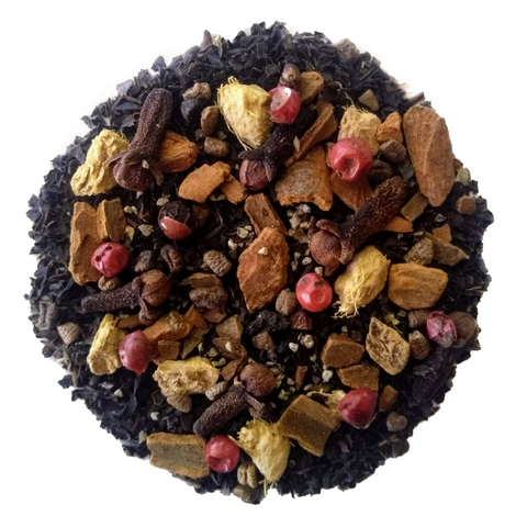 "Spicy Mama <span class=""subtitle"">Spiced Chai Black Tea Mix</span>"