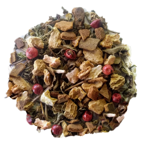 "Winter Warmer <span class=""subtitle"">Earthy & Spiced Holy Tulsi Mix</span>"