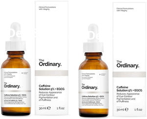 TO The Ordinary Caffeine Solution 5% + EGCG Twin Pack
