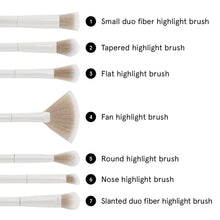 Load image into Gallery viewer, BH Cosmetics Highlighting Essentials Brush Set