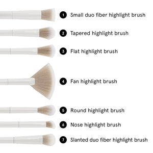 BH Cosmetics Highlighting Essentials Brush Set