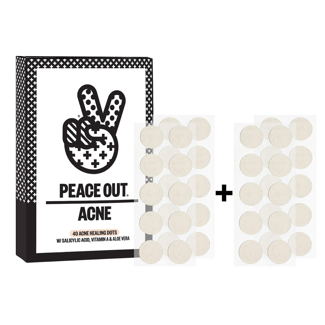 PEACE OUT ACNE DOTS JUMBO