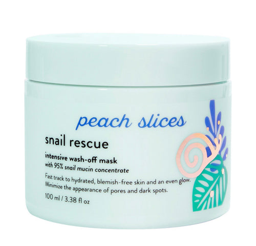 (PREORDER) Peach Slices Snail Rescue Intensive Wash-Off Mask