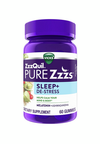 ZzzQuil PURE Zzzs Sleep + De-Stress