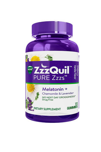 ZzzQuil PURE Zzzs Melatonin Gummies