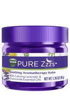 Load image into Gallery viewer, (PREORDER) Vicks PURE Zzzs Soothing Aromatherapy Balm