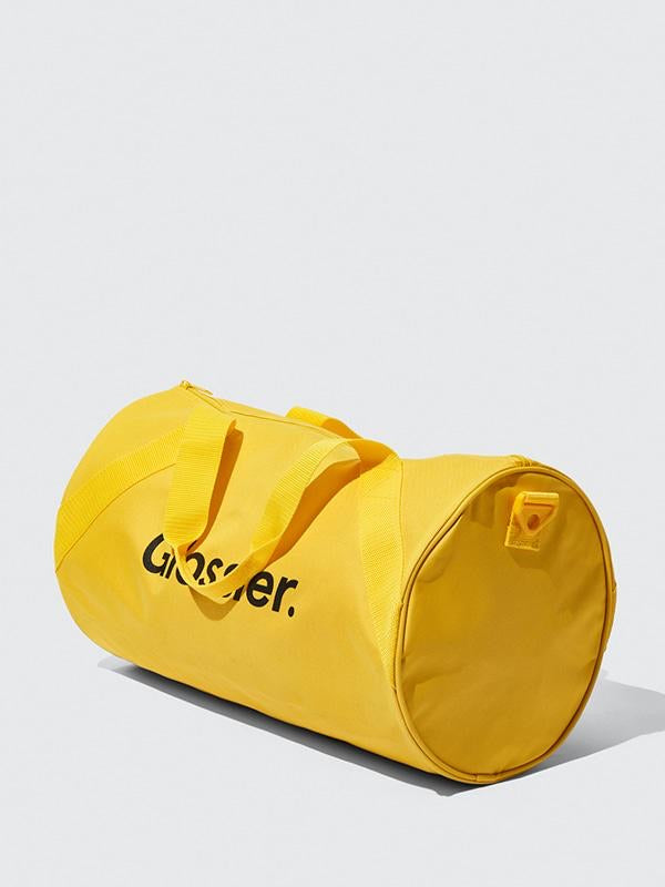 Glossier Sunshine Yellow Duffel Bag