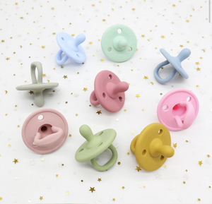 Silicone Baby Pacifier (6m +)