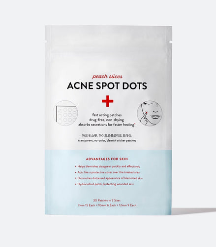(PREORDER) Peach Slices Acne Spot Dots