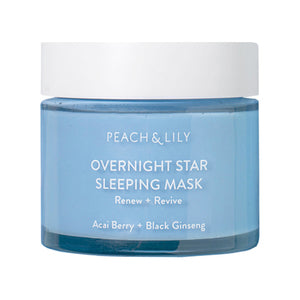 (PREORDER) Peach & Lily Overnight Star Sleeping Mask