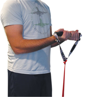 CanDo Exercise Band - Accessory - Foam Padded Adjustable Sports Handle