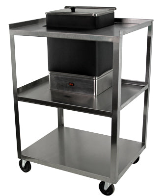 Utility cart for E-1 moist heat pack heater