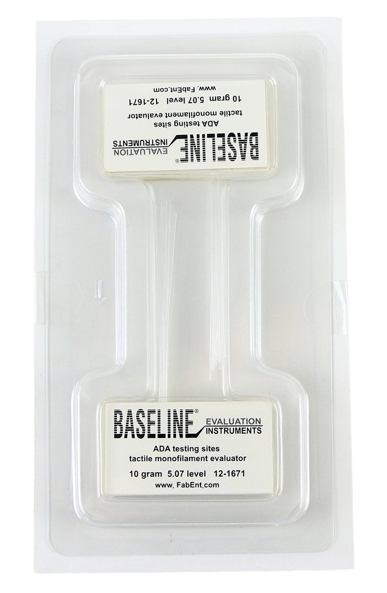 Baseline Tactile Monofilament - ADA Program - Disposable - 5.07 - 10 gram - 40-pack