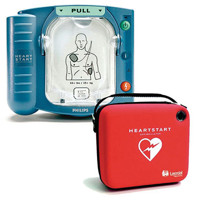 Phillips HeartStart On-Site AED with Slim Carry Case