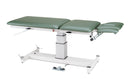 "treatment table - electric pedestal hi-low, 76"" L x 27"" W x 24"" - 36"" H, 5-section"