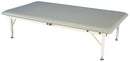 "bariatric mat platform table - electric hi-low, steel frame, 84"" L x 48"" W x 20"" - 30"" H , 900 lb. weight capacity"