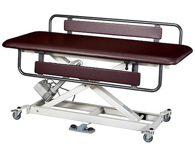 "Armedica Treatment Table - Motorized SX Hi-Lo, Changing Table w/Side Rails, 72"" x 25"""