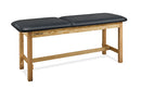 "CanDo Treatment Table w/ Adjustable Back, 400 LB Capacity, 72""L x 27""W x 31""H"
