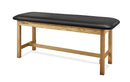 "CanDo Treatment Table H-Brace w/Flat Top, 400 LB Capacity, 72""L x 30""W x 31""H"