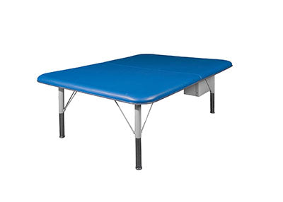 "Tri W-G Mat Table, Motorized Hi-Lo (18.5""-29.5""H), 4'W x 7'L, 600 lb capacity"