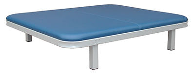 "Tri W-G Mat Table, Fixed Height (18""H), 5'W x 7'L, 1000 lb capacity"