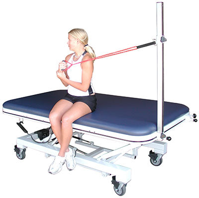 Tri W-G Mat Table Accessories, Assist Hook-Up Pole (TWG9000.BM series only), 48""
