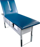 "Tri W-G Treatment Table, Motorized Hi-Lo, Raised Back, 28"" x 80"", 500Ib capacity"