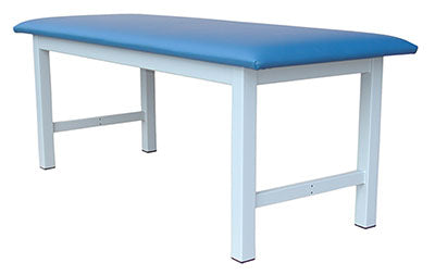 "Tri W-G Treatment Table, Fixed Height, Steel, 30"" x 72"", 500 lb capacity"