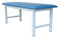 "Tri W-G Treatment Table, Fixed Height, Steel, 27"" x 78"", 500Ib capacity"