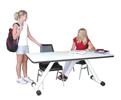 "Tri W-G Therapy Trainer Table, 30"" x 72"" x 30"", 400 lb capacity"