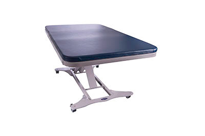 "Tri W-G Treatment Table, Bariatric Motorized Hi-Lo 1 section, 32"" x 78"", 750 lb capacity"
