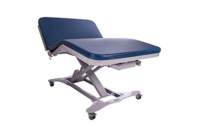 "Tri W-G Treatment Table, Bariatric Motorized Hi-Lo 3 section, 48"" x 78"", 750 lb capacity"