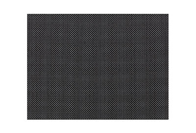 "Orfilight Black NS, 18"" x 24"" x 3/32"", micro perforated 13%"