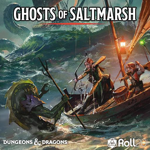 Ghosts of Saltmarsh Wednesdays 5:00PM