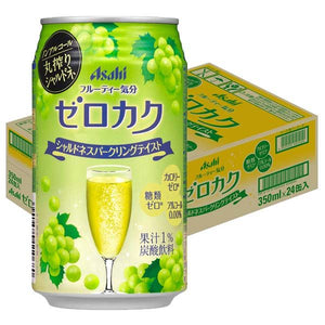 Asahi Non Alcohol Drink Grape Flavor (2 Bottles) - 朝日無酒精飲料白葡萄口味(2罐)