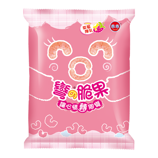 Kuai Kuai Strawberry Flavor (2 Bags Red) - 乖乖-草莓煉乳乖乖(1份2包)