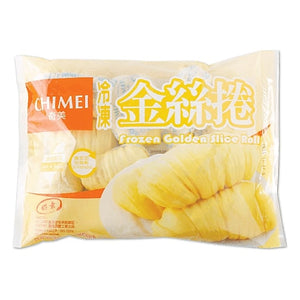 ChiMei Frozen Golden Slice Roll (1 Pack) - 奇美金絲卷 (1包 / 10顆)