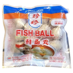 ***本週特價***Jane Jane Fish Ball (1 Bag) - 珍珍鮮魚丸(1包8oz)