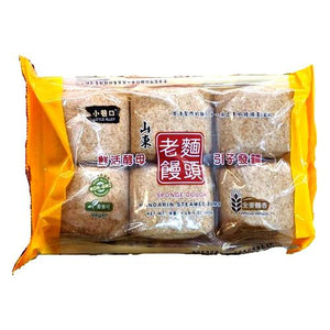 Little Alley Sponge Dough Whole Wheat(1 Bag) - 小巷口全麥麵香饅頭 (1包/6入)