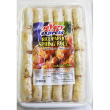 Load image into Gallery viewer, Savory Express Rice Paper Spring Roll (1 Pack) - 好味快車炸春捲(1包/24PCS)
