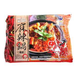 Tai Su Szechwan Chili Hot Pot Soup Base(1 Bag) - 台塑四川麻辣鍋湯底(1包/1000g)