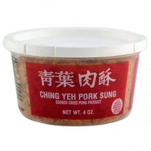 ***本週特價***Ching Yek Pork Sung Cooked Dry Pork Product(1) - 青葉肉酥(1罐4oz)