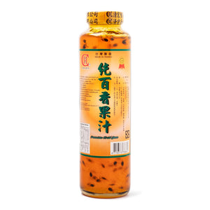 Concentrated Passion Fruit Juice (1 Bottle) - 純百香果汁(1瓶800g)