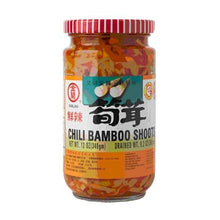 Load image into Gallery viewer, KimLan Chili Bambo Shoots(1 Bottle) - 金蘭鮮辣筍茸(1瓶340g)